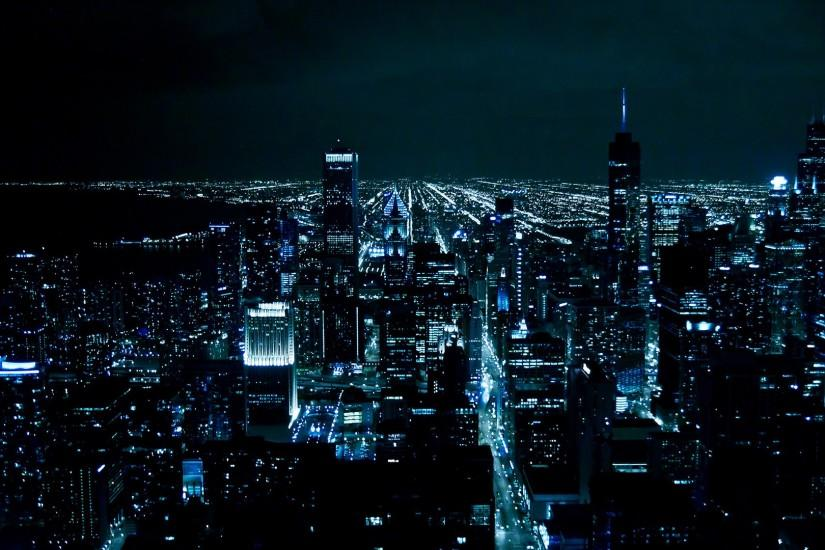 Download The Dark Night Chicago as Gotham Wallpaper | Free Wallpapers