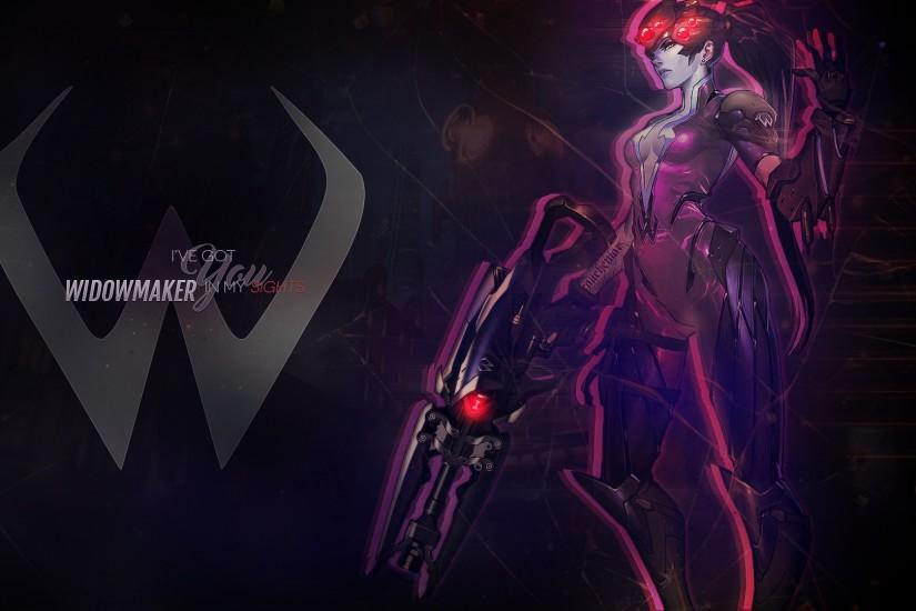 Wallpaper: Overwatch Widowmaker by MirajaneTV Wallpaper: Overwatch  Widowmaker by MirajaneTV