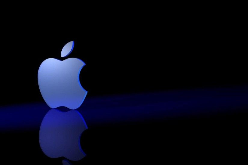 wallpaper.wiki-Black-Apple-Background-3D-PIC-WPD003890-