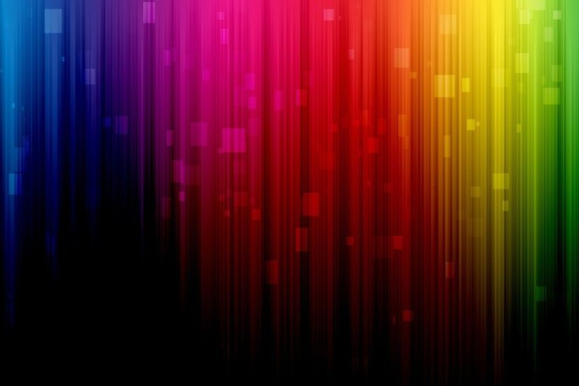 Abstract multicolor spectrum rainbows digital art lines colors wallpaper