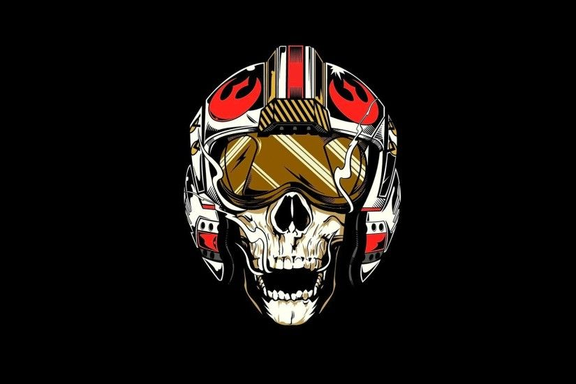 Star Wars, Rebel Alliance, Pilot, Skull Wallpapers HD / Desktop and Mobile  Backgrounds