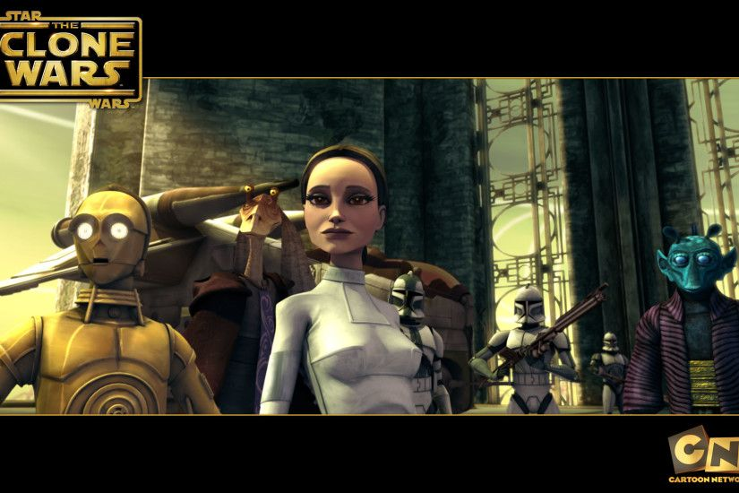 Padme Amidala from The Clone Wars wallpaper - Click picture for high  resolution HD wallpaper
