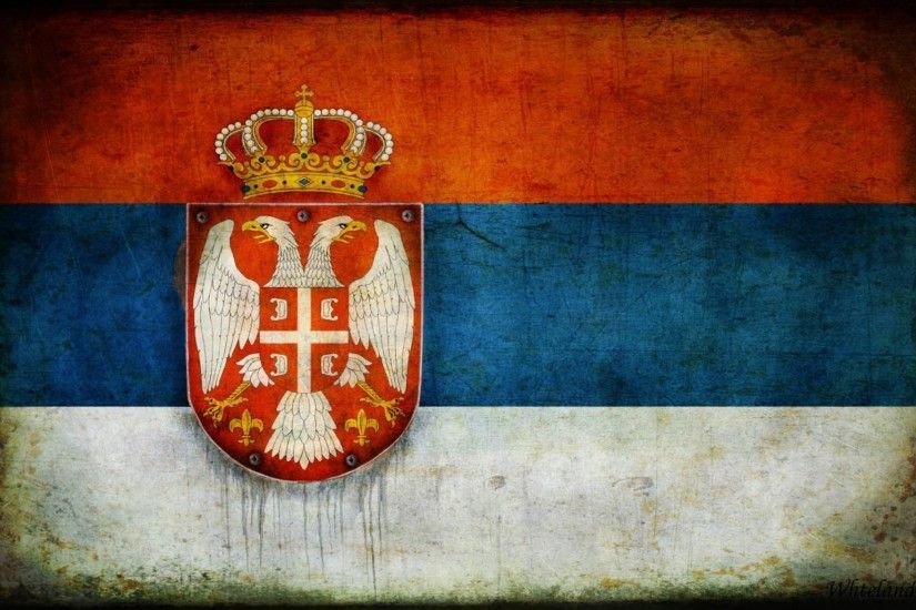 serbia coat of arms flag