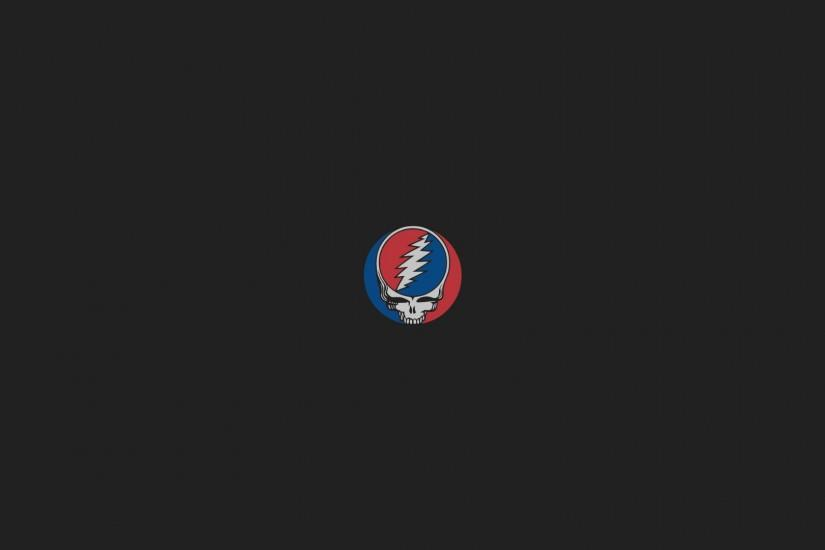 Minimalist Grateful Dead Wallpaper 1920 x 1080