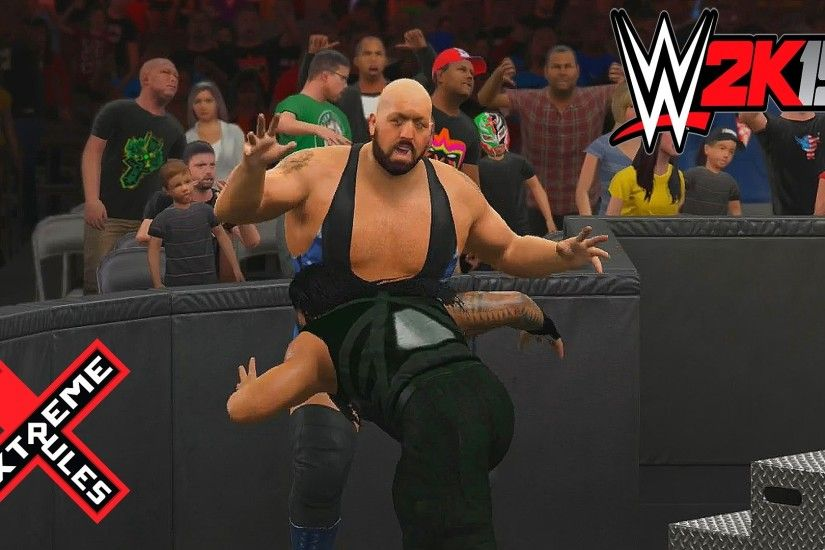 WWE 2K15 - Roman Reigns vs Big Show Last Man Standing Extreme Rules -  YouTube