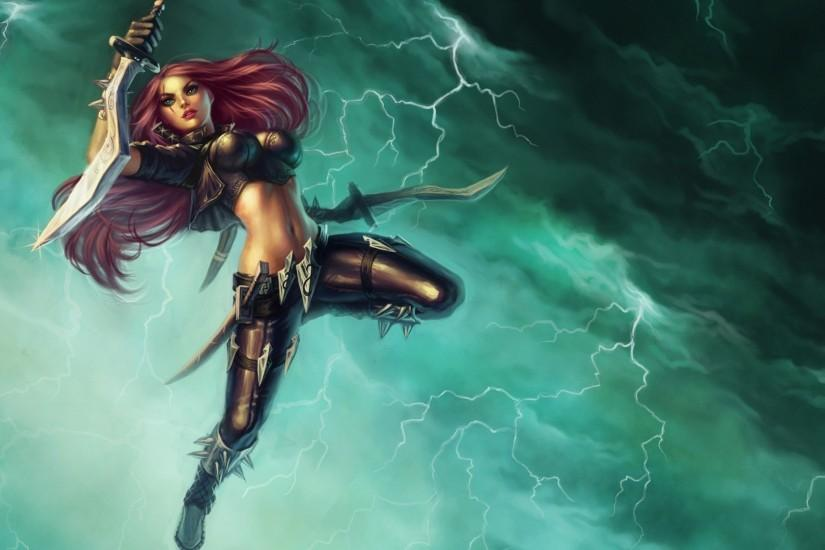 Katarina - League Of Legends Wallpaper ...