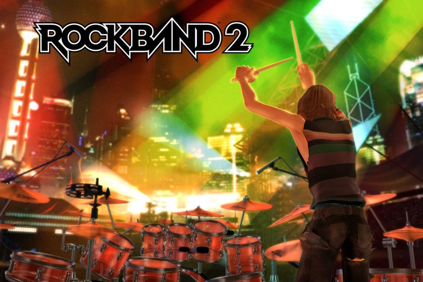 HD Wallpapers Rock Band 2 game wallpaper