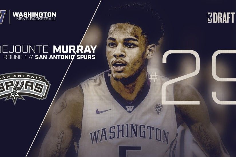 Murray Picked 29th by San Antonio Spurs in 2016 NBA Draft