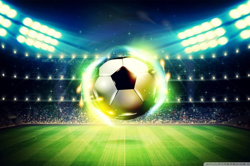 Football Soccer Ball Background