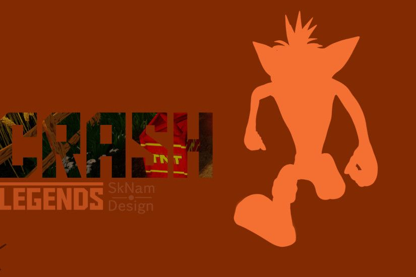 Crash Bandicoot Wallpaper by ScrashMan3800 Crash Bandicoot Wallpaper by  ScrashMan3800
