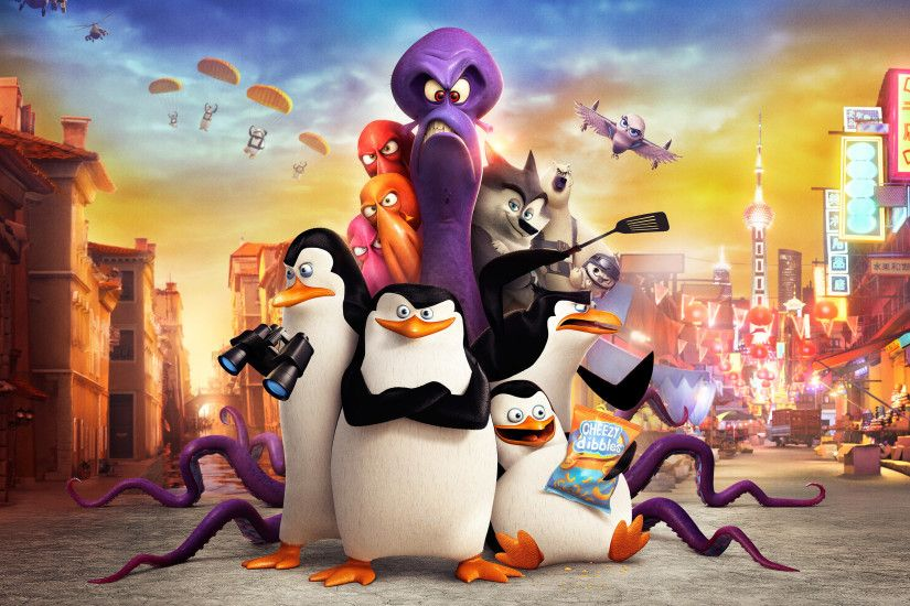... Penguins of Madagascar Movie HD desktop wallpaper : Widescreen .