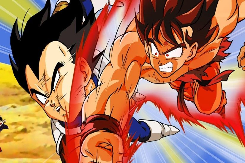 Free Goku VS Vegeta Fighting Wallpapers, Goku VS Vegeta Fighting Backgrounds,  Goku VS Vegeta