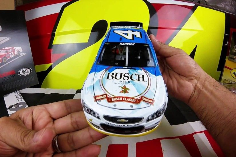 1920x1080 Unboxing the 2016 Kevin Harvick #4 Busch Beer 1/24 NASCAR Diecast