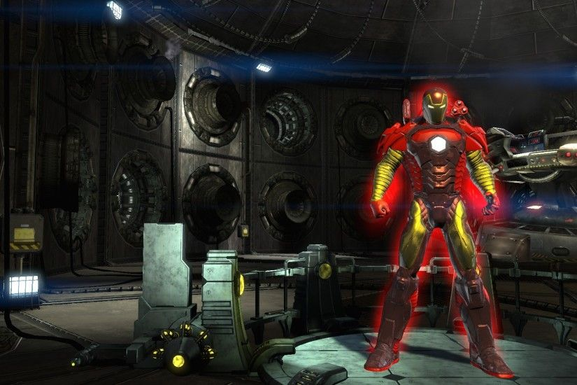 ... Iron Man full suit custom DCUO by Kenred2