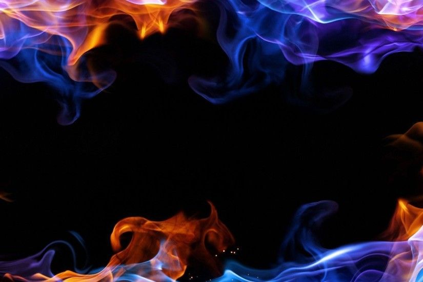 Wallpapers For > Cool Backgrounds Of Colorful Fire