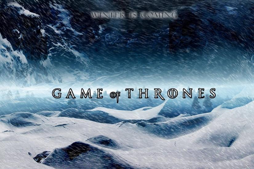 Winter is coming, House Stark - Game of Thrones wallpaper - 718617