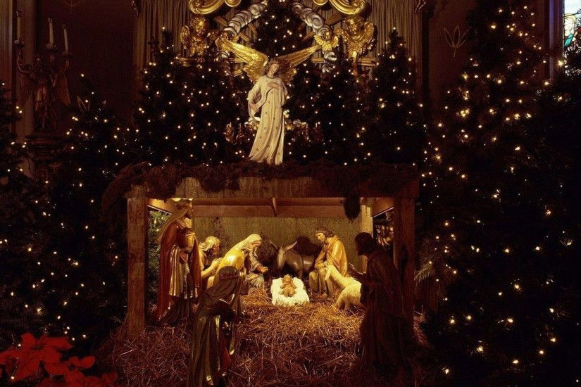 ... Advent Christmas Time Nativity Scene | BestWallSite.com ...