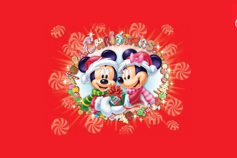 Christmas, 1080p, Merry Christmas Wallpaper, Mickey and Minnie mouse .