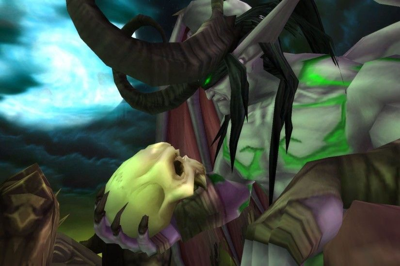... video games World of Warcraft screenshots illidan Warcraft World of  Warcraft: The Burning Crusade wallpaper ...