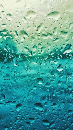 rain drop window blue pattern iphone 7 wallpaper