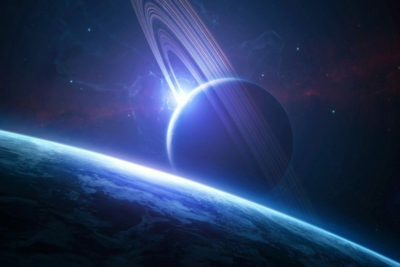 Fantasy Planets Wallpaper