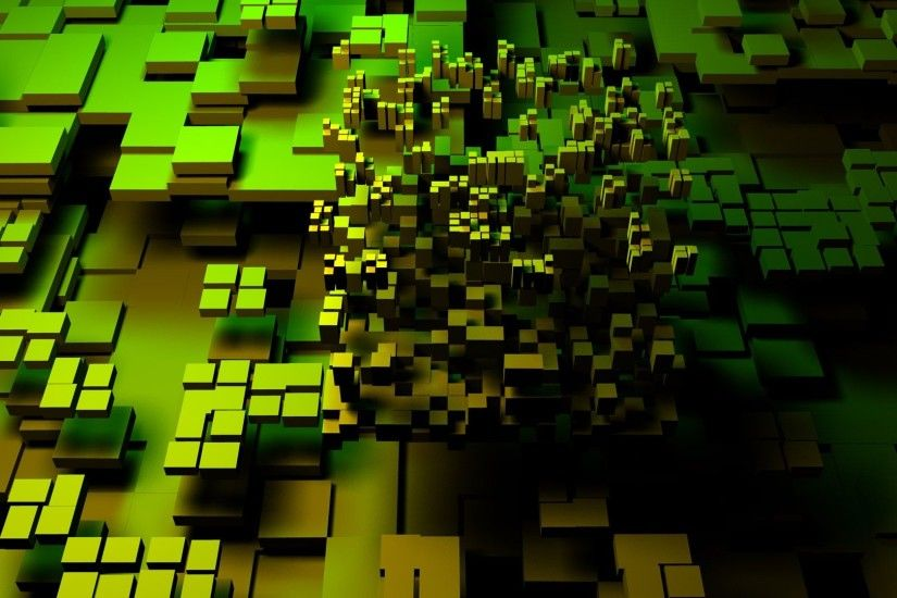 3D Abstract Art Ground Blocks Wallpaper | HD 3D and Abstract Wallpaper Free  Download ...