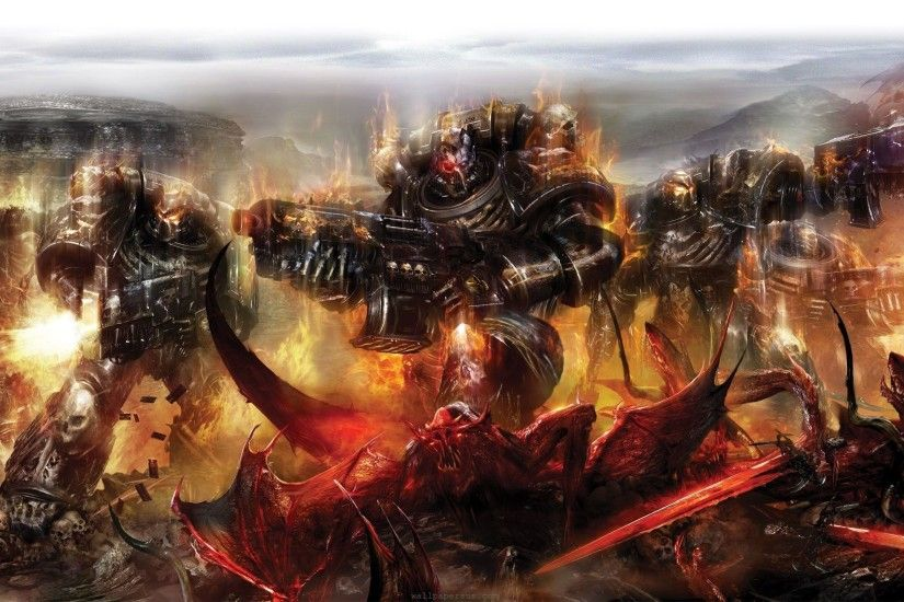 Video Game Warhammer 40k Wallpaper 2560x1440 px Free Download .