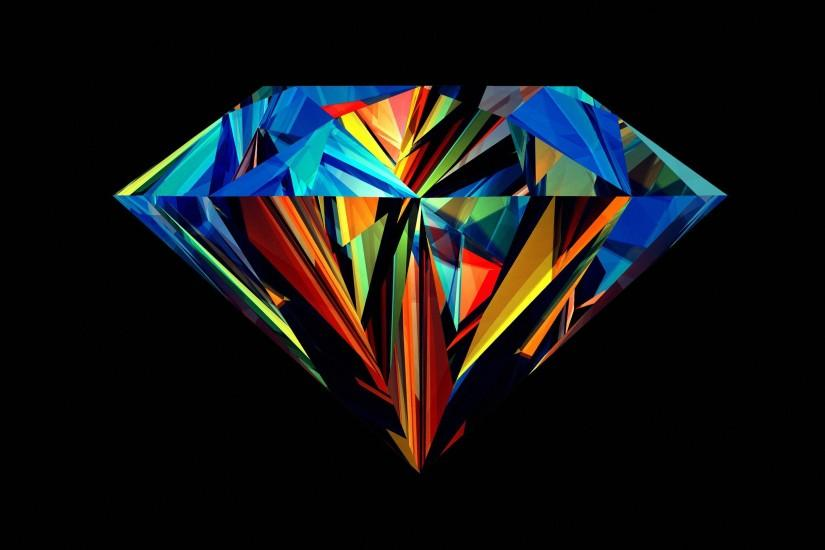 Multi-colored crystal wallpapers and images - wallpapers, pictures .