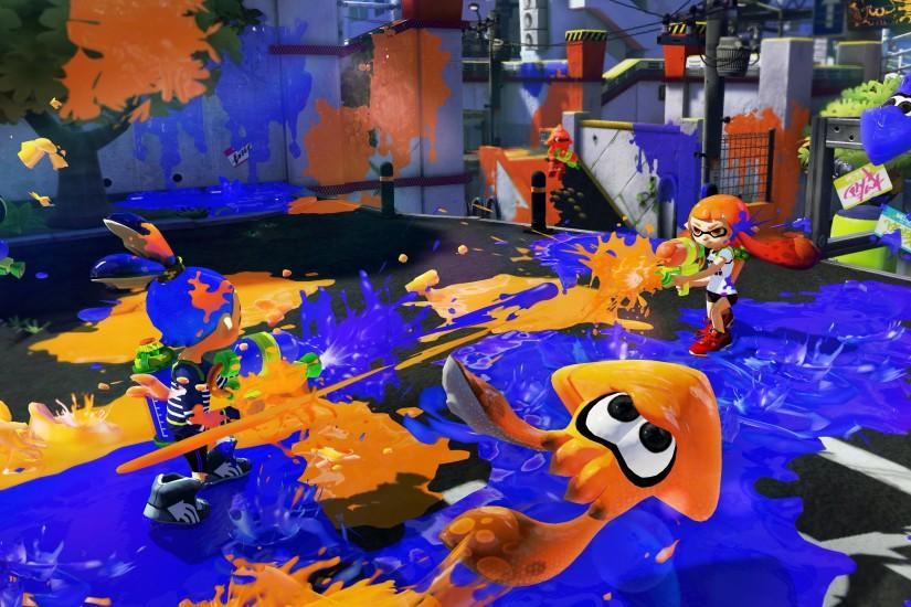 free splatoon wallpaper 3796x2135 720p
