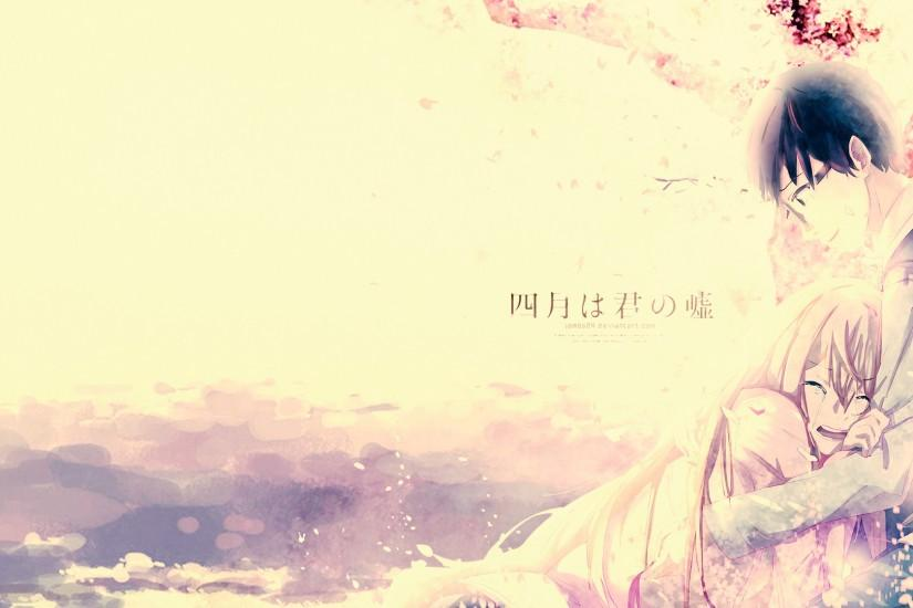 amazing your lie in april wallpaper 1920x1080