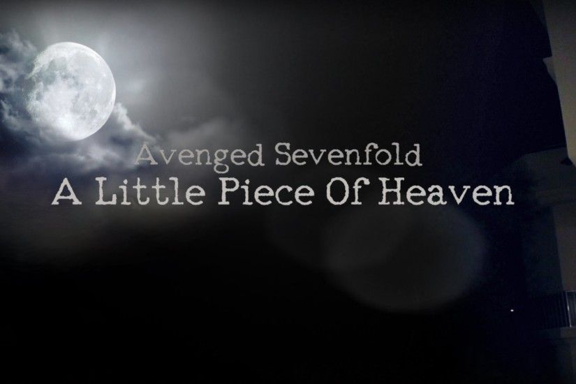 Avenged Sevenfold - A Little Piece Of Heaven - Fan Made Video Clip - YouTube
