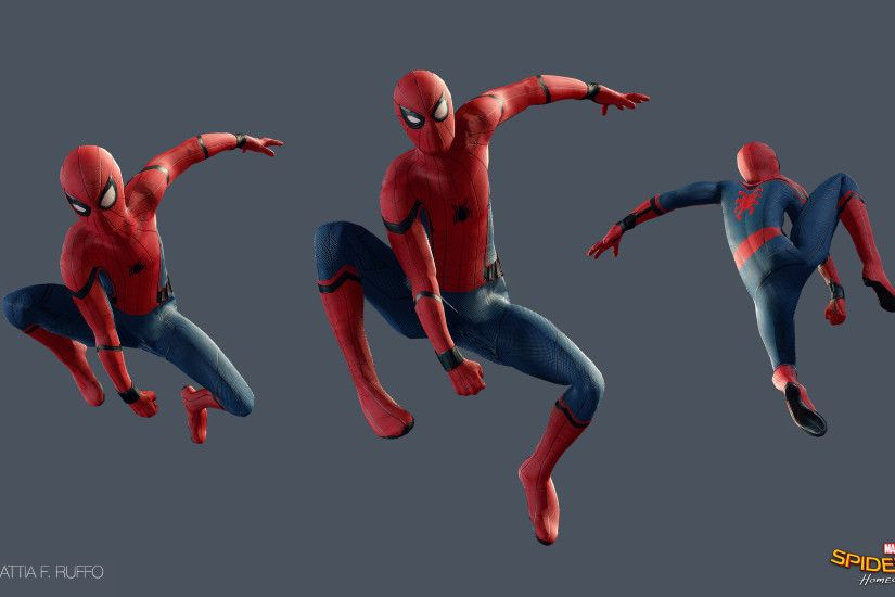 Spiderman Homecoming Pose Wallpaper by MattiaRuffo Spiderman Homecoming  Pose Wallpaper by MattiaRuffo