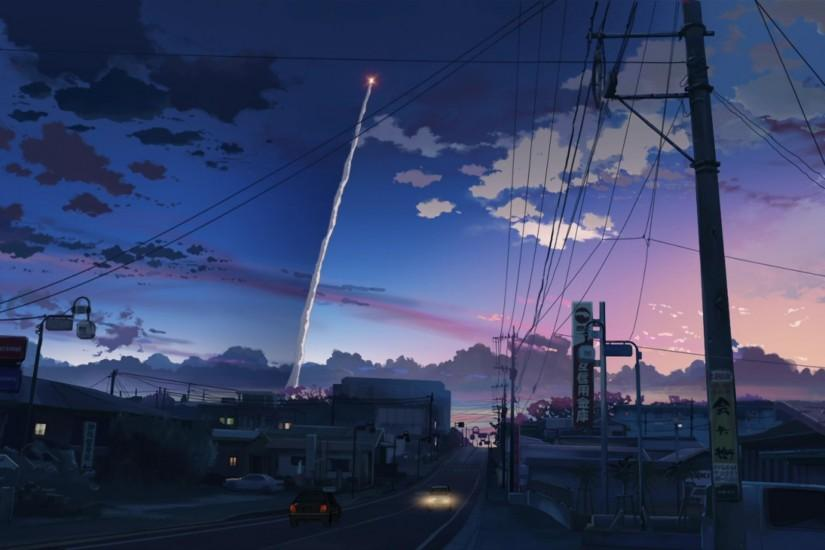Fantastic Anime Scenery Wallpaper 7980