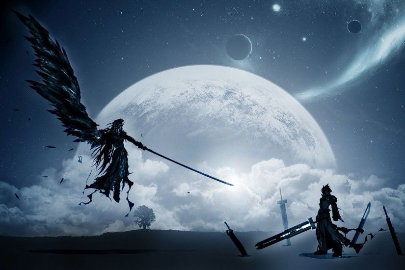 <b>Final Fantasy VII Wallpaper</b> Speedpaint - YouTube