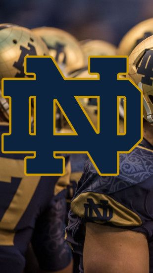 ... Notre Dame Fighting Irish Wallpaper for Android with Logo
