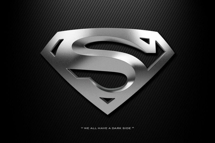 ... 14116) Superman Logo Wide Wallpaper - WalOps.com ...