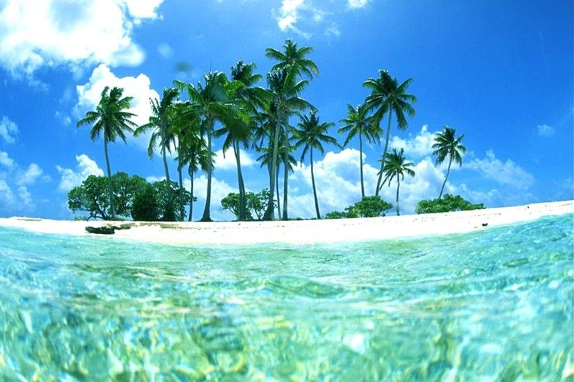 Tropical Beach Backgrounds - Wallpaper Cave