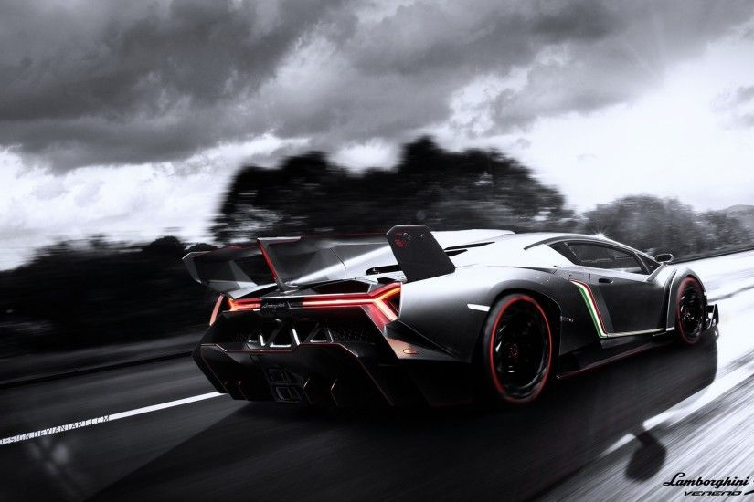 2013 Lamborghini Veneno Exclusive HD Wallpapers #4113