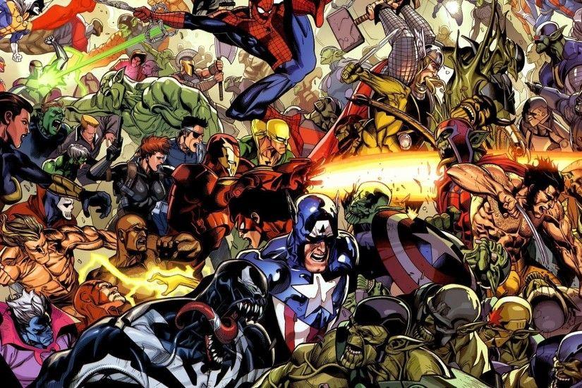 Marvel vs DC Wallpaper ·① WallpaperTag