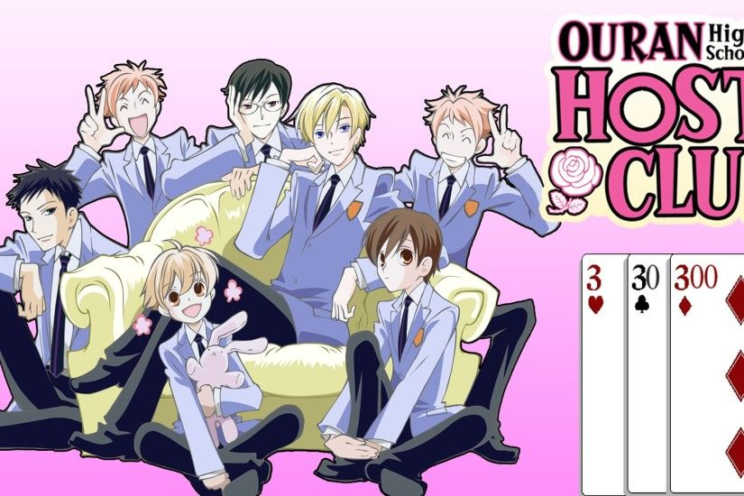 Review 3, 30, 300: Ouran High School Host Club