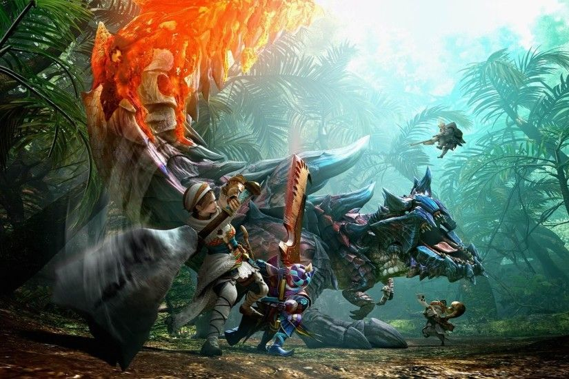 Monster Hunter HD Wallpapers and Backgrounds 1920×1080 Monster Hunter  Wallpaper (33 Wallpapers)