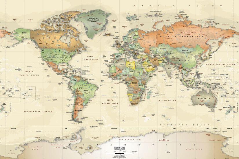World map desktop background antique world map wallpaper retratos gumiabroncs Choice Image