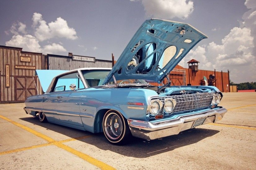 Download wallpaper Chevrolet Impala, lowrider, Car, cars free .
