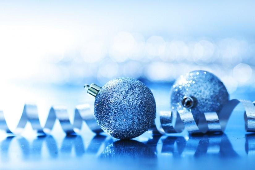 HD Blue Christmas Background.
