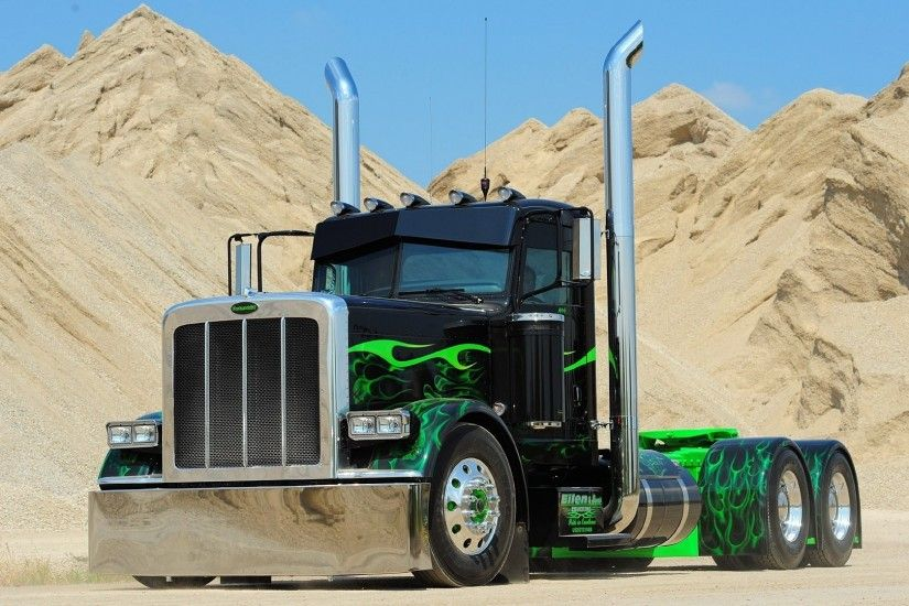 Download Wallpapers, Download trucks peterbilt widescreen .