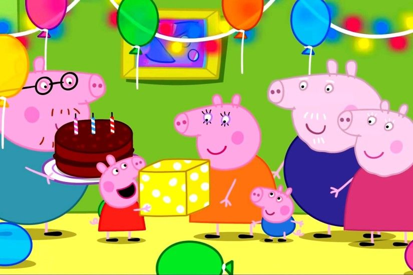 Peppa Pig Coloring Pages for Kids Peppa Pig Coloring Games Peppa Pig daddy  pig mummy Birthday day - YouTube