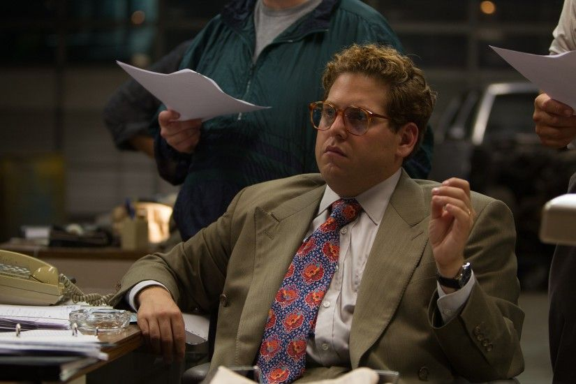 Movie - The Wolf of Wall Street Donnie Azoff Jonah Hill Wallpaper