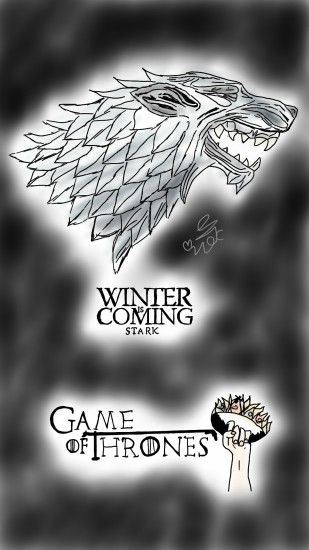 winter is coming logo by LilianBell winter is coming logo by LilianBell