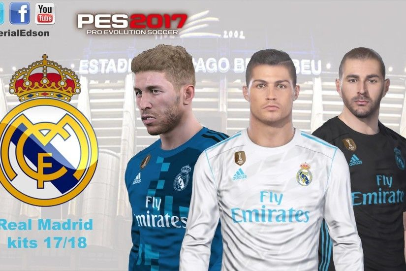 1920x1080 Download PES2017 Real Madrid 2017-2018 Kit Pack