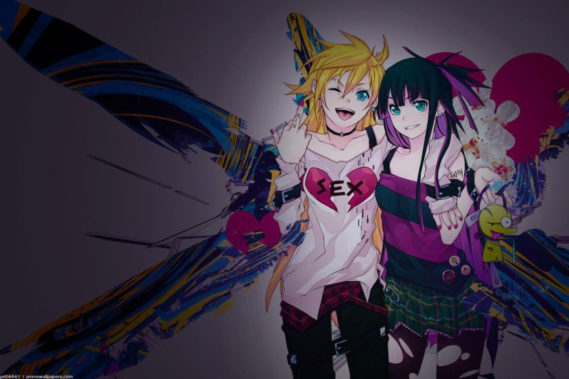 Tags: Anime, Curryuku, Panty and Stocking With Garterbelt, Punk, Wallpaper